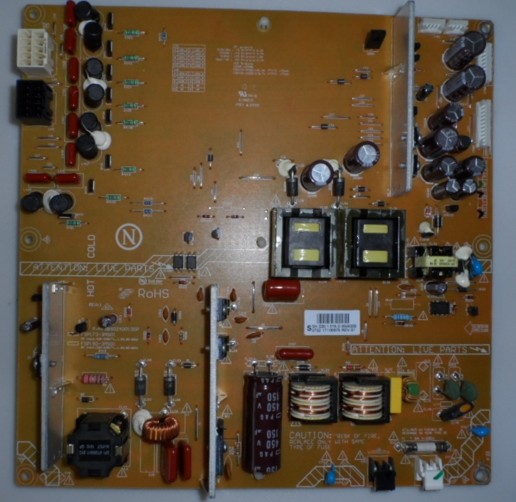 PB/46INC/PH/46PFL5605 POWER BOARD ,FSP173-3MS01,P/N3BS0240013GP, for PHILIPS 46PFL5605H/12