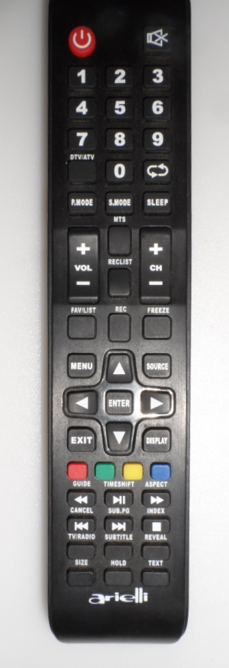 RC/ARIELLI/32D8HD ORIGINAL REMOTE CONTROL  for ,ARIELLI LED 32D8HD,