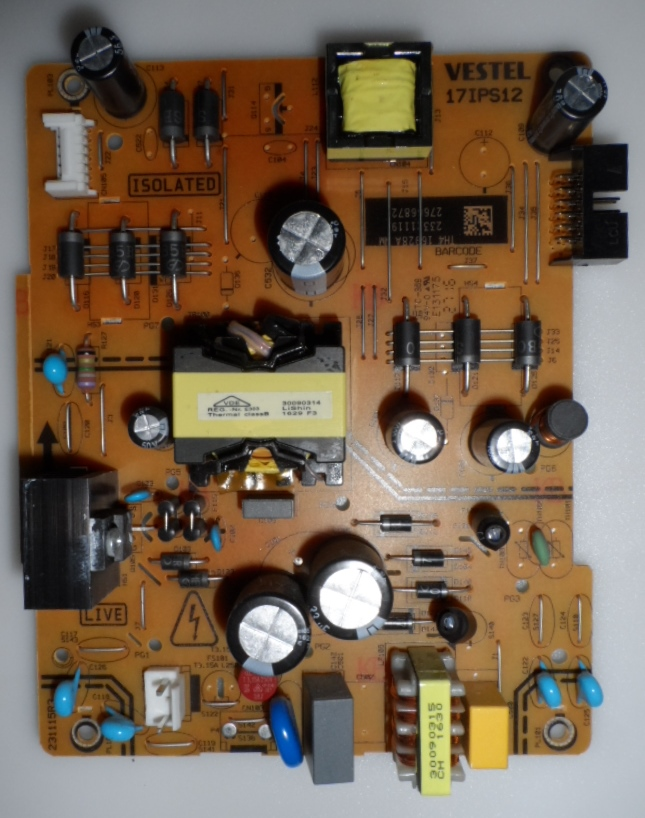 17IPS12/49INC/VES/STARLAIHT POWER BOARD ,17IPS12, for 49 inc DISPLAY  ,23321119,27666872,
