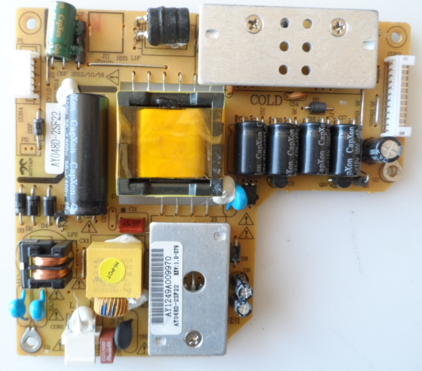 PB/AY048D/CHINATV POWER BOARD ,AY048D-2SF22,AY048D-2SF22 REV:1.0-079,