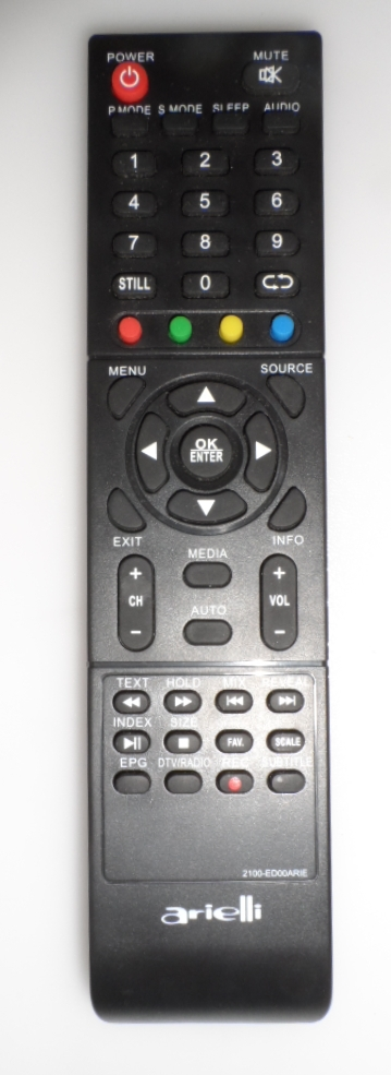 RC/ARIELLI/24DN6T2 ORIGINAL REMOTE CONTROL,2100-ED00ARI,  for ,ARIELLI LED 24DN6T2,32DN6T2,