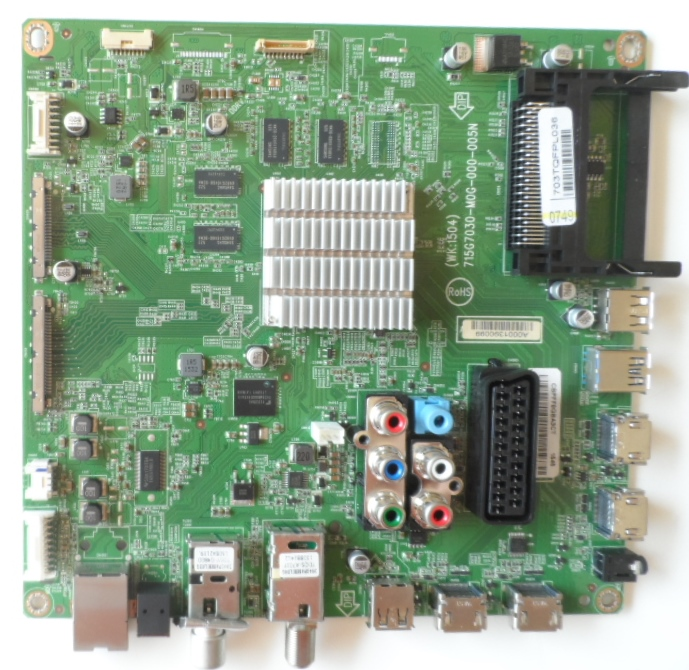 MB/55INC/PH/55PFK6510 MAIN BOARD 715G7030-M0G-000-005N for PHILIPS 55PFK6510/12