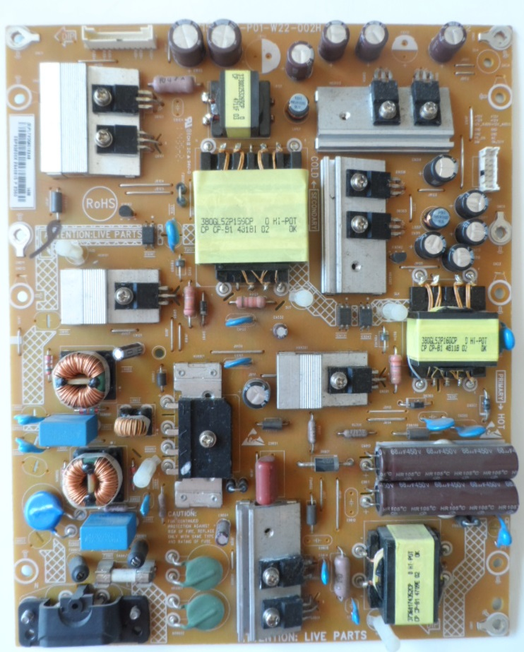PB/42INC/PH/42PFK6109 POWER BOARD 715G6169-P01-W22-002H for PHILIPS 42PFK6109/12