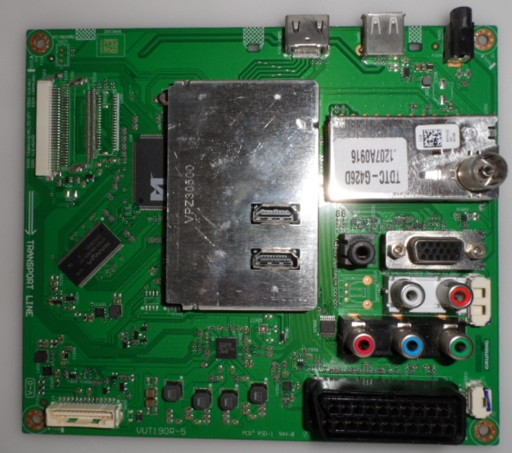 MB/32INC/GRUNDIG MAIN BOARD, VUT190R-5,for, GRUNDIG 32XLC3200BA,