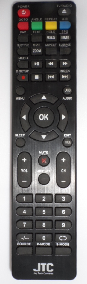 RC/JTC ORIGINAL REMOTE CONTROL  for ,LED TV JTC ,