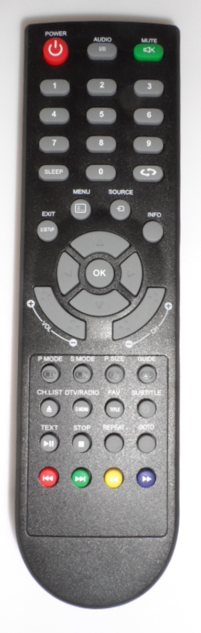 RC/JTC/2040 ORIGINAL REMOTE CONTROL  for ,LED TV JTC 2040D,