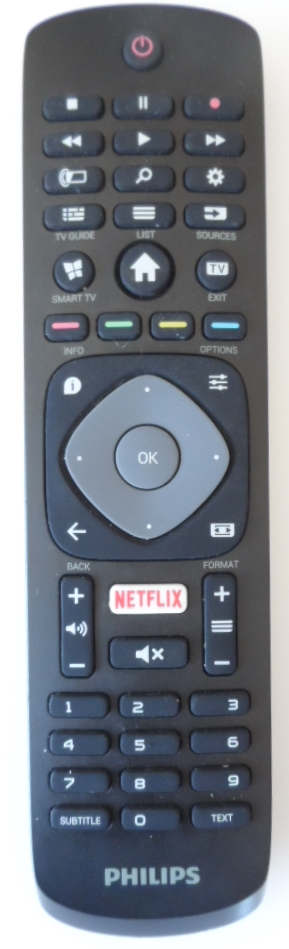 RC/PH/43PUH6101 ORIGINAL  REMOTE CONTROL  for PHILIPS TV 43PUH6101/88