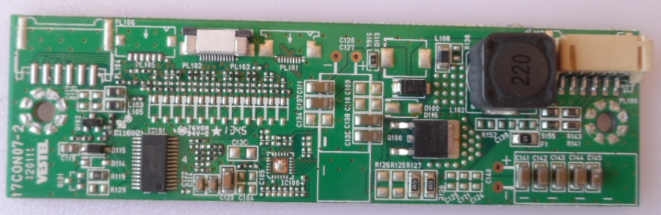 LD/24INC/VES/ LED DRIVER ,17C0N07-2,120111,23071948,27205752,