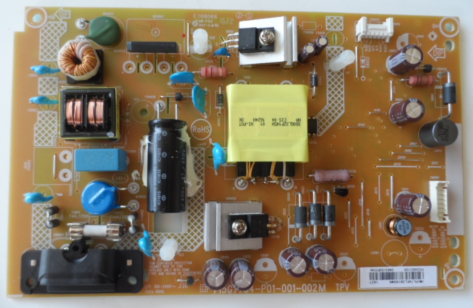 PB/32INC/PH/32PHT4101 POWER BOARD 715G7734-P01-001-002M for PHILIPS 32PHT4101/12