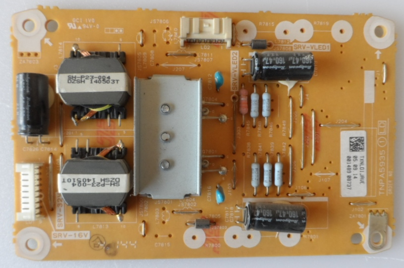 LD/42INC/PAN/42AS500 LED DRIVER ,TNPA5935 1 LD,TXNLD1JAVE, for ,PANASONIC TX-42AS500E,TX-42A400E