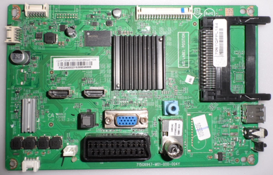 MB/24INC/PH/24PHH400 MAIN BOARD ,715G6947-M01-000-004Y, for, PHILIPS 24PHH4000,