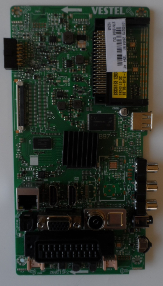 17MB97/43INC/VES MAIN BOARD 17MB97  for 43inc DISPLAY 10103073 23336161 27612038