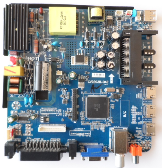 MB/CV9203HQ42/NEO32D8 MAIN BOARD ,CV9203H-Q42 , for ,NEO LED-32D8,