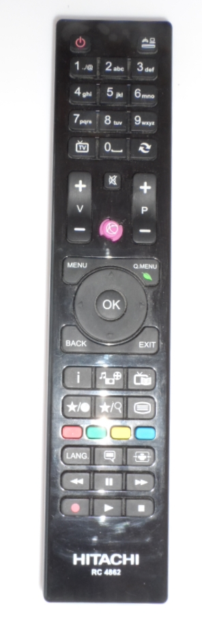 RC/HITACHI/RC4862   ORIGINAL REMOTE CONTROL ,RC4862, for HITACHI LED TV