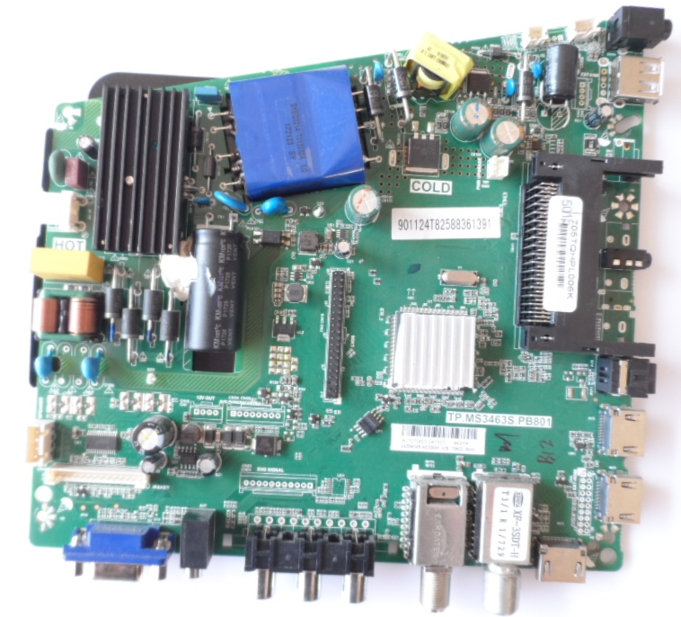 MB/TP.MS3463S.PB801/PH/43PFS4012 MAIN BOARD, TP.MS3463S.PB801 , for PHILIPS 43PFS4012/12