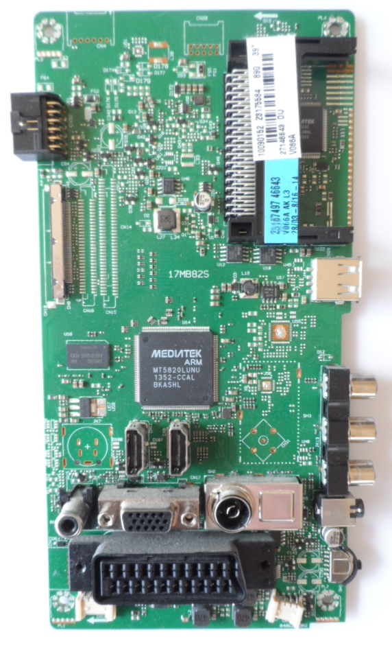 17MB82S/39INC/TFK MAIN BOARD ,17MB82S,for 39inc DISPLAY,10090152,23175584,27146643,