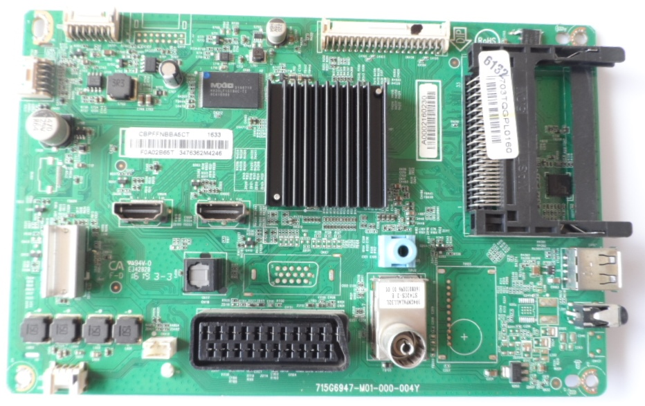 MB/32INC/PH/32PFT4101/12/Y MAIN BOARD ,715G6947-M01-000-004Y, for, PHILIPS ,32PFT4101/12,