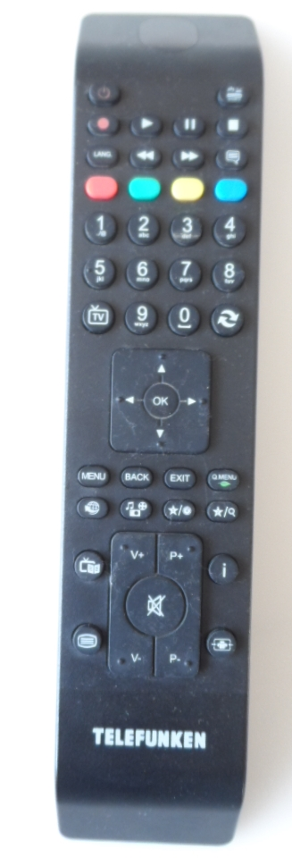 RC/4800/TFK/VES  REMOTE CONTROL ,RC4800, for ,TELEFUNKEN