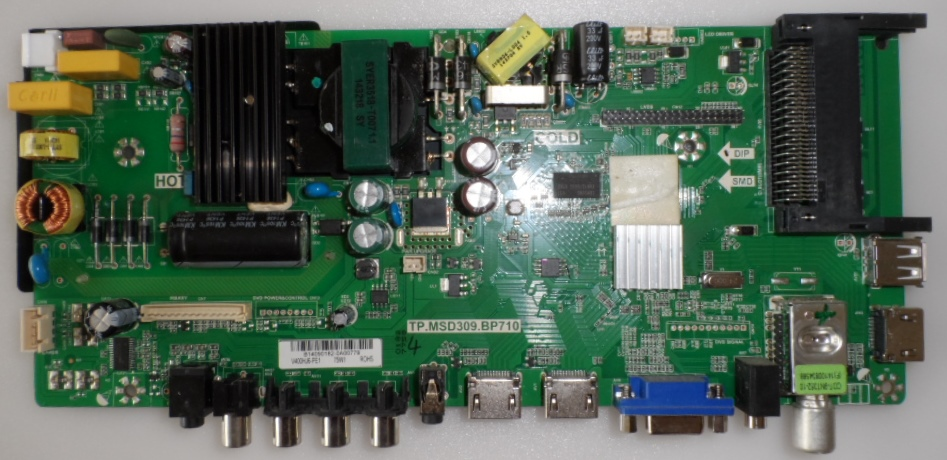 MB/TP.MSD306.BP710/BA40L233 MAIN BOARD ,TP.MSD309.BP710, for BLAUPUNKT ,BA40L233BFBKUE,