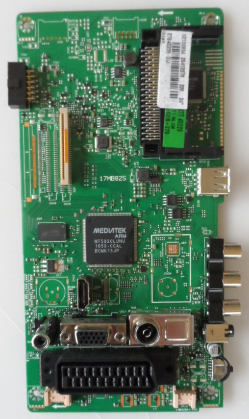 17MB82S/24INC/VES/EL MAIN BOARD,17MB82S ,10100834,23412278,278840228,