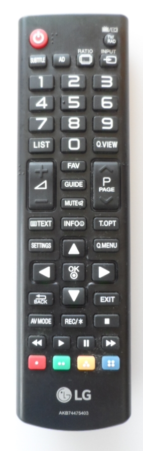 RC/LG/AKB74475403 ORIGINAL REMOTE CONTROL, AKB74475403, for LG LED TV