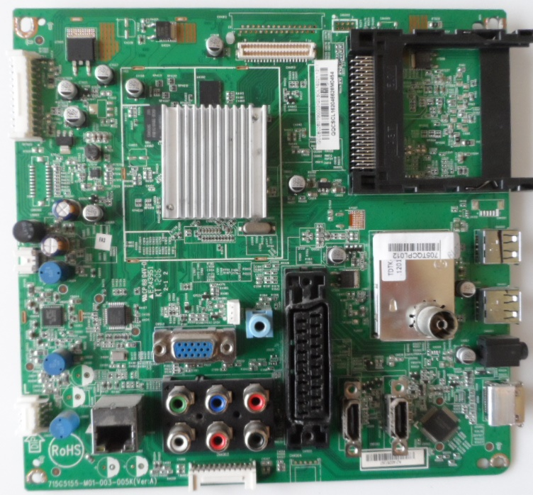 MB/37INC/PH/37PFL3537 MAIN BOARD ,715G5155-M01-003-005K(Ver:A) ,for PHILIPS 37PFL3537