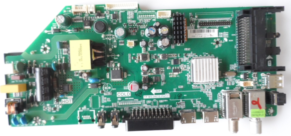 MB/TP.MS3463S.PA511/BP24A207 MAIN BOARD ,TP.MS3463S.PA511, for BLAUPUNKT ,BF24A204BHN