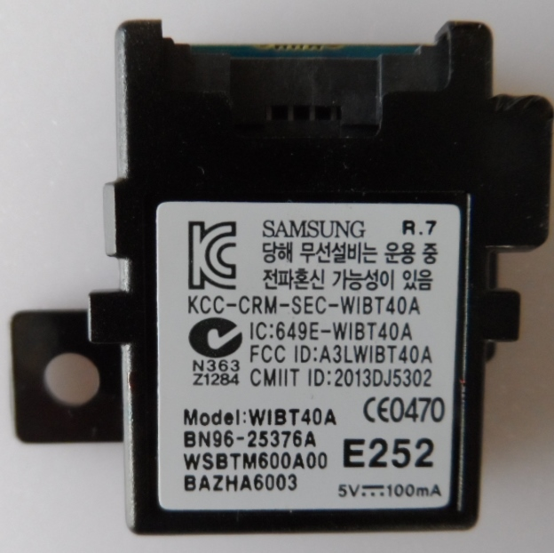 BT/BN96-25376A/SAM/40F6470 BLUETOOTH  MODULE ,BN96-25376A,WIBT40A, for ,SMSUNG ,UE40F6470SS,