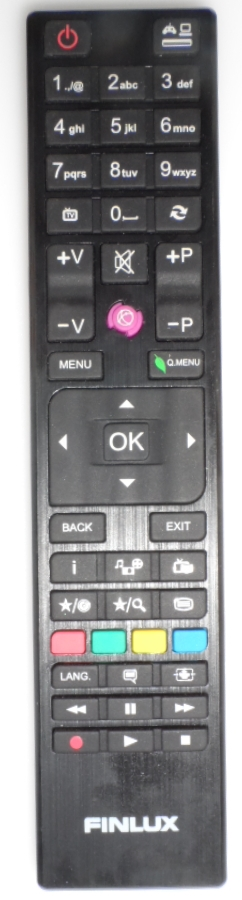 RC/4876/FINLIX/55FUB7000  REMOTE CONTROL ,RC4876, for ,FINLUX 55-FUB-7000,