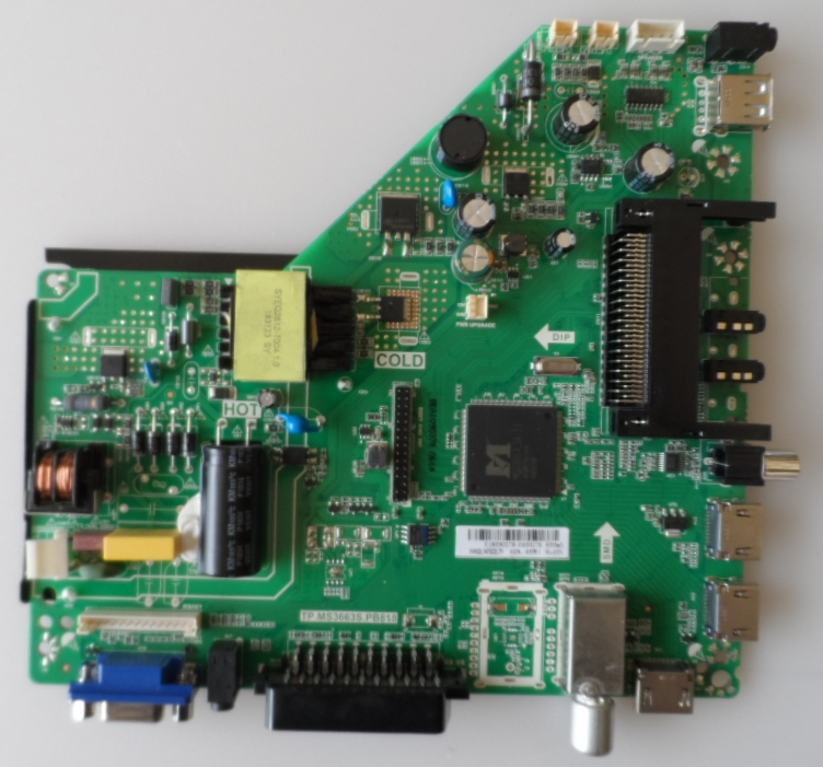 MB/TP.MS3663S.PB818/CR3233T2 MAIN BOARD,TP.MS3663S.PB818, for ,CROWN 3233T2,