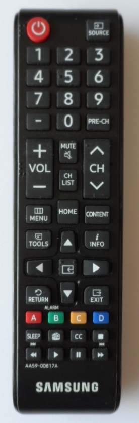 RC/SAM/AA59-00817A ORIGINAL REMOTE CONTROL,AA59-00817A ,for SAMSUNG  LED TV