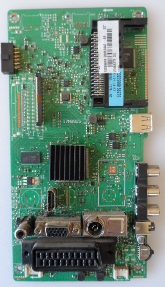 17MB82S/32INC/TFK/2 MAIN BOARD 17MB82S for 32inc  DISPLAY,10099943,233362440,27656278,
