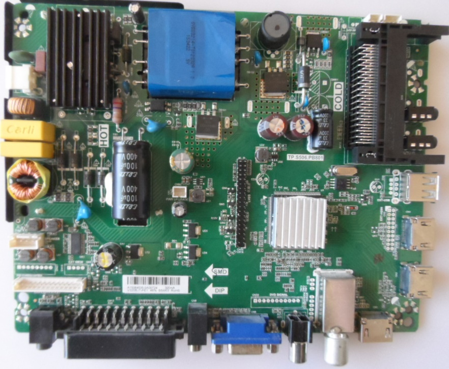 MB/TP.S506.PB801/ST.LIGH/32DM2000 MAIN BOARD ,TP.S506.PB801 , for STARLIGHT 32DM2000,
