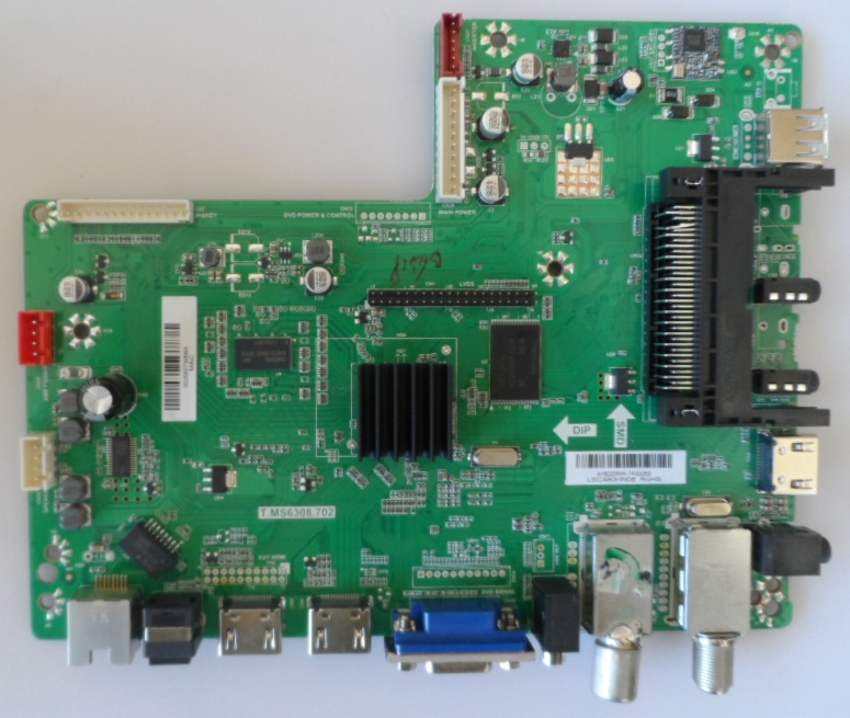 MB/T.MS6308.702/SHARP/48CFF6002 MAIN BOARD T.MS6308.702 for SHARP LC-48CFF6002E