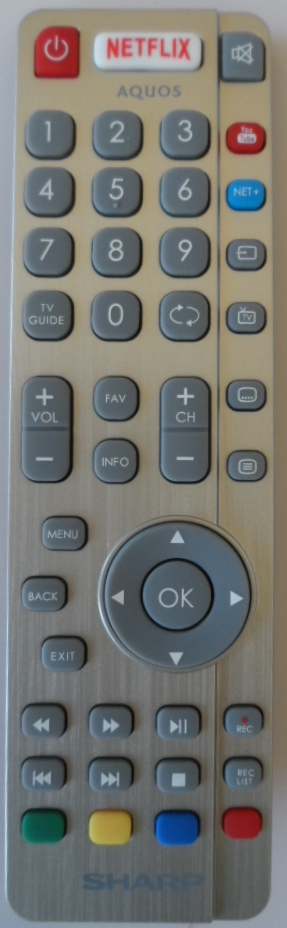 RC/SHARP/RADIO/1 ORIGINAL REMOTE CONTROL for SHARP AQUOS
