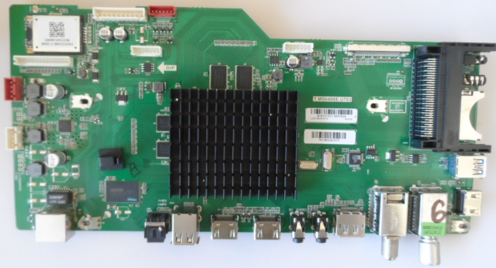 MB/T.MS6488E.U703/SHARP/55CUF8472 MAIN BOARD T.MS6488E.U703for SHARP LC-55CUF8472ES
