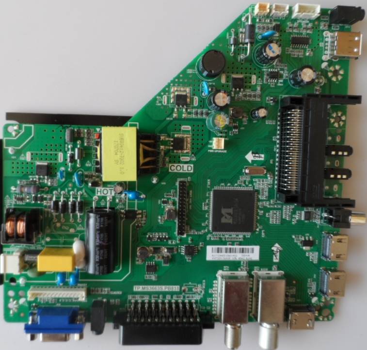 MB/TP.MS3663.PB818/32INC/SMT3222 MAIN BOARD TP.MS.3663T.PB818 for SmartTech LE-3222TS