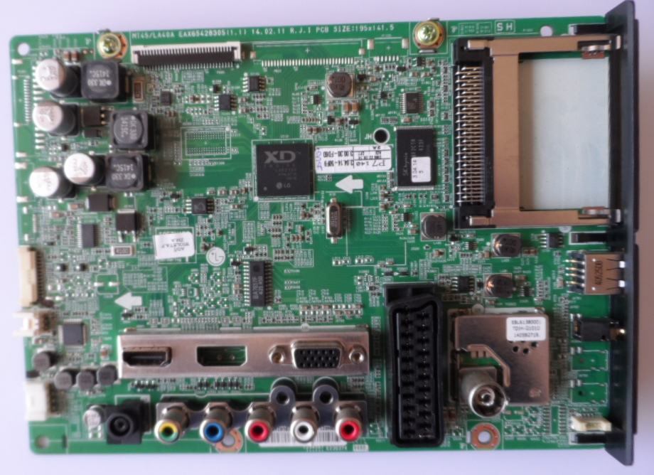 MB/LG/29MT45D MAIN BOARD   ,EBU62407944,EAX65428305(1.1),  for, LG ,29MT45D,
