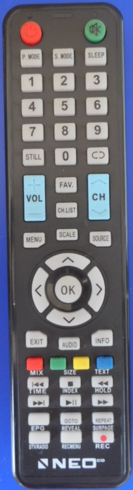 RC/NEO/28000DVBT  ORIGINAL  REMOTE CONTROL  for NEO LED-28000DVBT