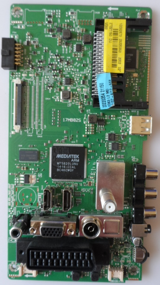 17MB82S/32INC/VES/FHD MAIN BOARD 17MB82s for 32inc FHD DISPLAY 10092673 23220358 27221120