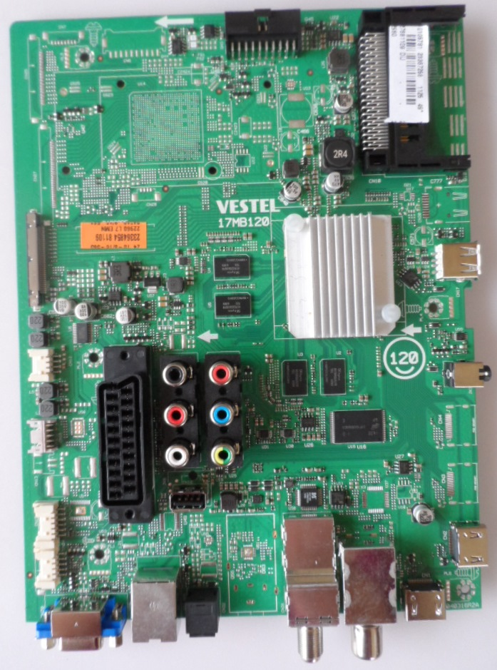 17MB120/49INC/TFK MAIN BOARD 17MB120 for 49 inc DISPLAY UHD 4K  10106781 23367256 27681109