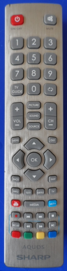RC/SHARP/RADIO/2 ORIGINAL REMOTE CONTROL for SHARP AQUOS