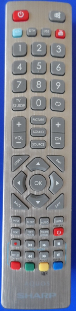 RC/SHARP/RADIO/3 ORIGINAL REMOTE CONTROL for SHARP AQUOS  LC-48CFF6002