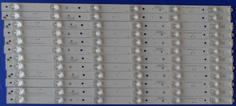 LB/55INC/SHARP/55CUF8472 LED BACKLAIHT   RF-AJ550E30-0601L-05 A0  RF-AJ550E30-0601R-05 A0