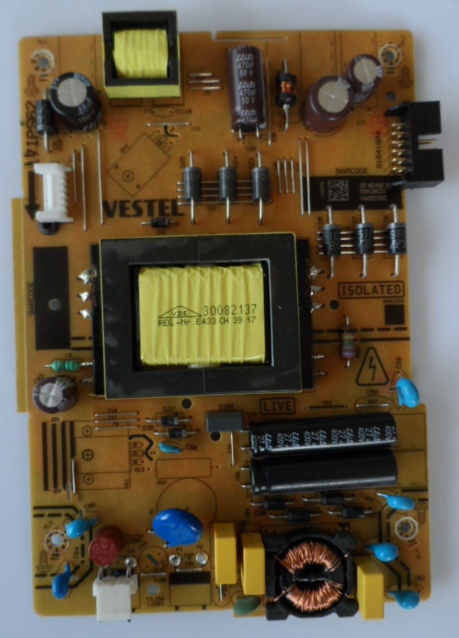 17IPS62/32INC/NEO/32470/1 POWER BOARD ,17IPS62, for 32 inc DISPLAY ,28032920,23367482,TH2 180419A SD,010416R4,