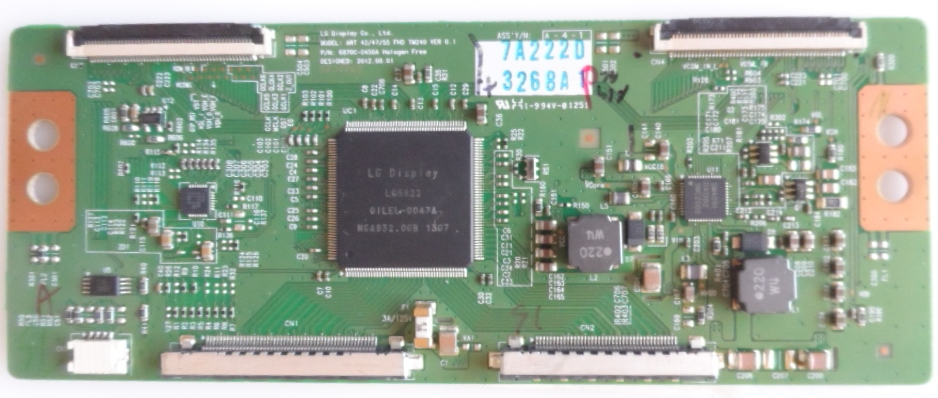 TCON/6870C0450A/42PFL6878 TCon BOARD ,6870C-0450A  ,for PHILIPS 42PFL6878K/12