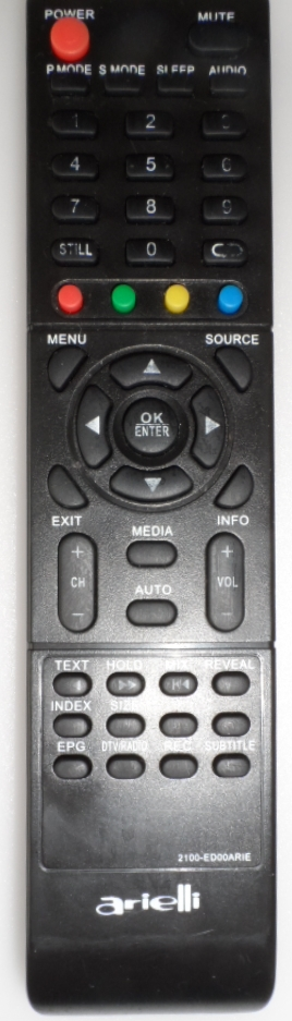 RC/ARIELLI/49DN4T2 ORIGINAL REMOTE CONTROL ,2100-ED00ARIE, for ARIELLI,LED-49DN4T2,