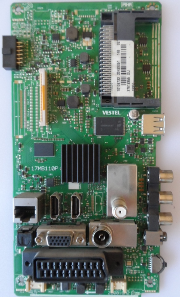 17MB110P/32INC/GOGEN MAIN BOARD, 17MB110P, for 32inc DISPLAY , 10105732,23428051,27812355,26081R2,