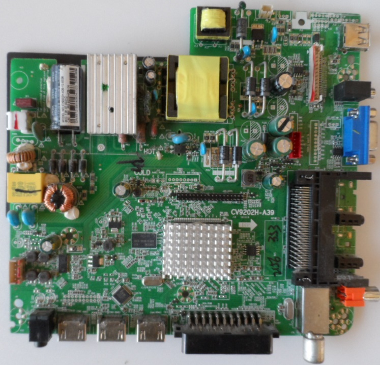 MB/CV9202H-A39/AR/2916 MAIN BOARD ,CV9202H-A039 , for ,ARIELLI LED2916HD,