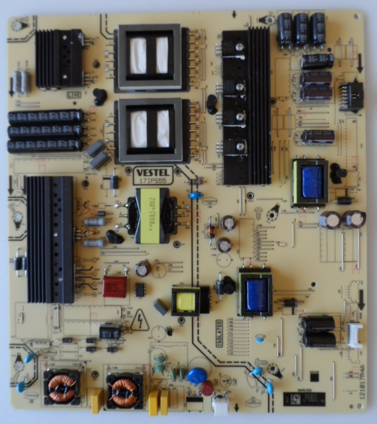 17IPS55/65INC/VES/NEO POWER BOARD ,17IPS55, for 65 inc DISPLAY,,23406989,28105540 ,121017R4A,